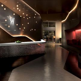 W New York Downtown Lobby - Financial District  NYC Condominiums