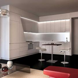 W New York Downtown New Construction Building Kitchen -  NYC Condos