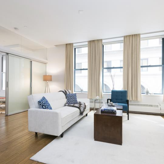 Condos for sale at 21 Astor Place in NYC - Livingroom