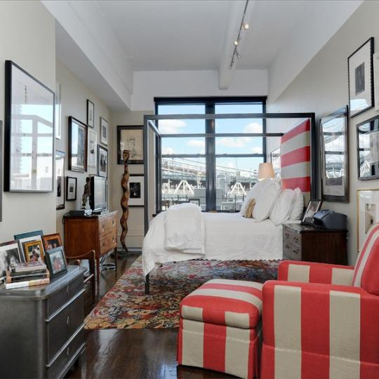 Bedroom- 1 Main Street- NYC apt for sale