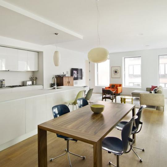 One York Dining Area – Condominiums for Sale NYC