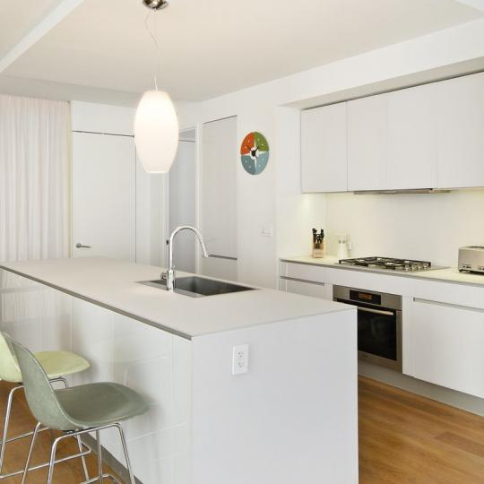 1 York Street Kitchen Area – NYC Condos for Sale