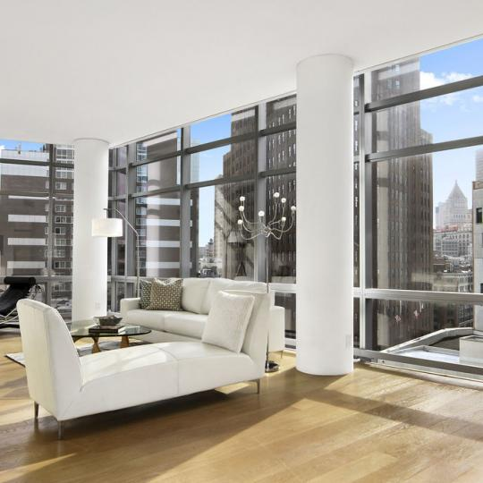 One York Living Room - 1 York Street Condos for Sale