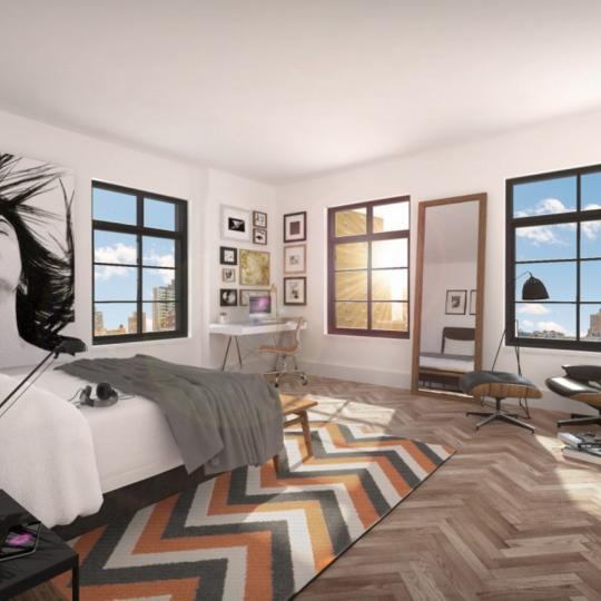 Apartments for sale at 100 Avenue A in NYC - Bedroom