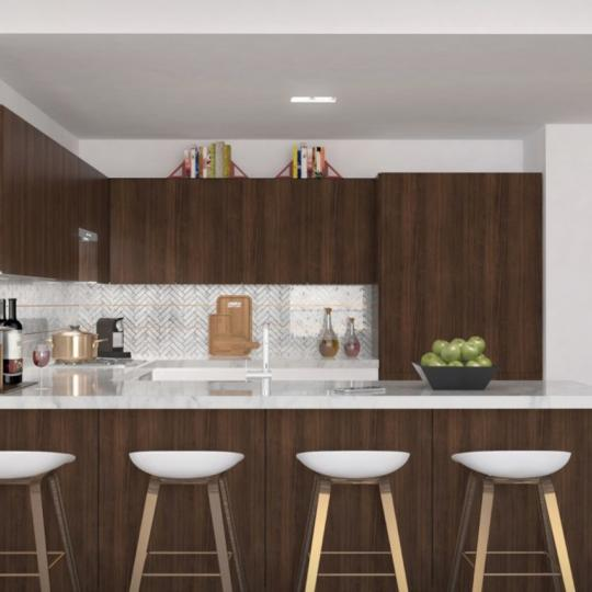 Open Kitchen at 100 Avenue A in East Village - Apartments for sale