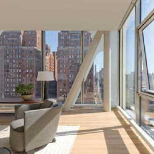 100 Norfolk - Living Room - Apartments for sale in NYC