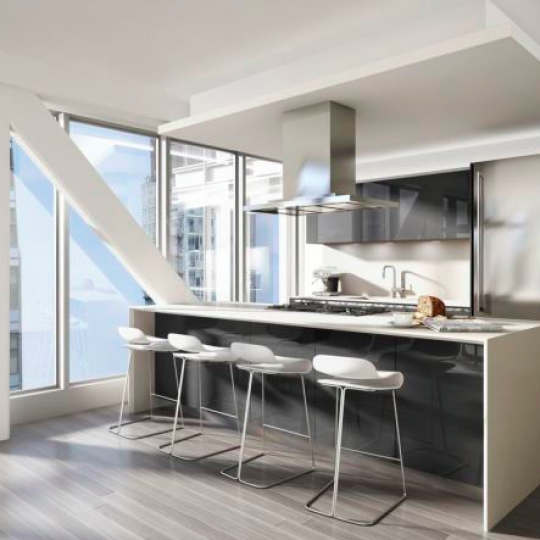 The Kitchen at 100 Norfolk - Condos for sale