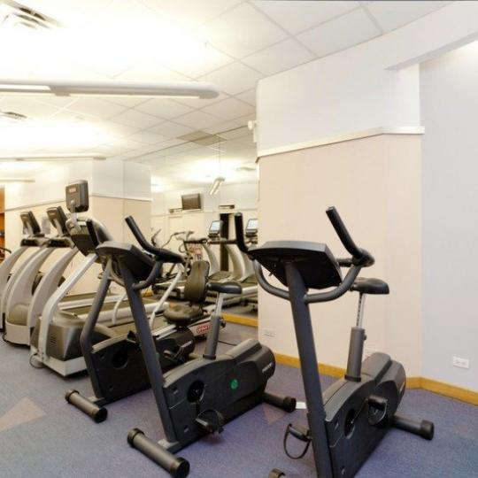 Apartments for sale at 100 United Nations Plaza in Turtle Bay - Fitness Center