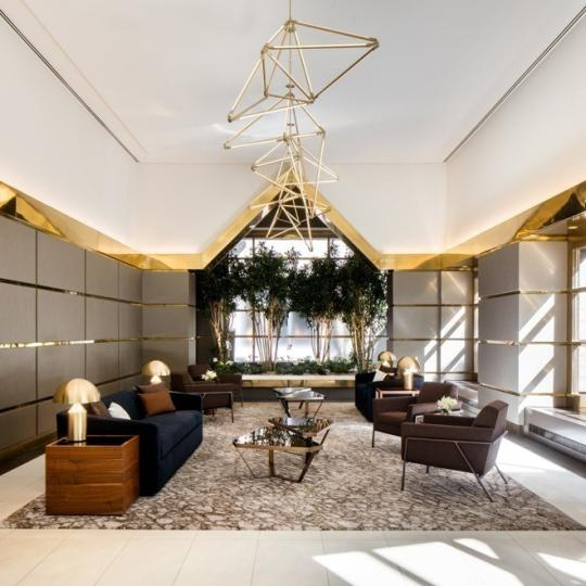 Condos for sale at 100 United Nations Plaza in Turtle Bay - Lobby Area