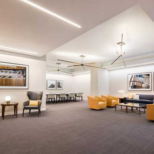 Condos for sale at 100 United Nations Plaza in Mahattan - Lounge