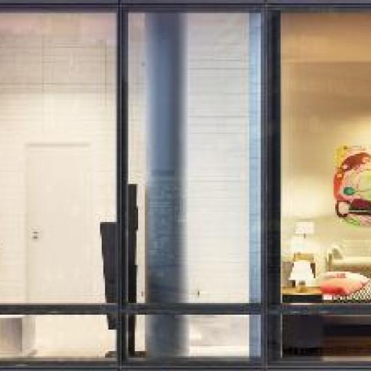 101 Warren Street New Construction Building Bathroom and Bedroom – NYC Condos