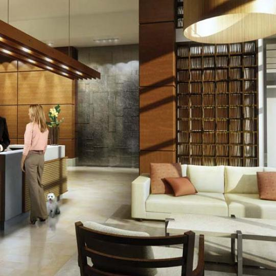 Chelsea Stratus Lobby - Chelsea NYC Condominiums for Sale