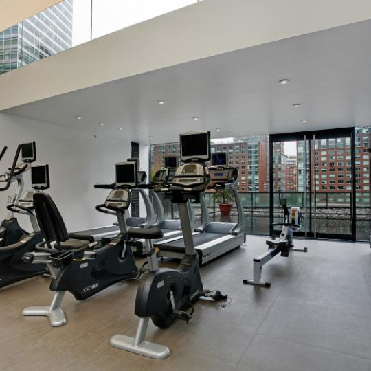 101 Warren Street NYC Condo for sale - gym