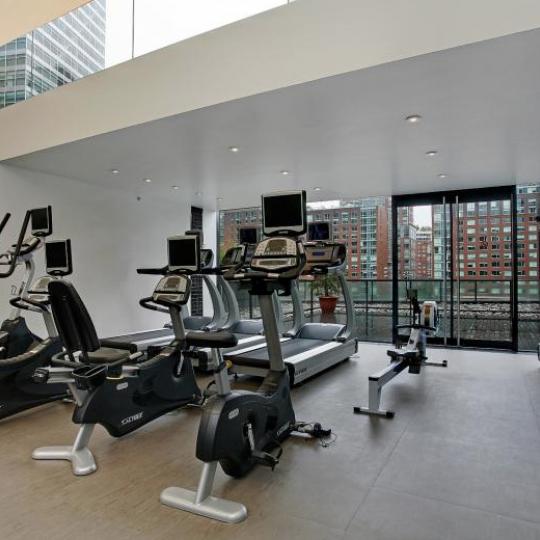 101 Warren Street NYC Condo for sale - gym