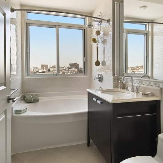 Bathroom at 106 West 116th Street in South Harlem - Condos for sale