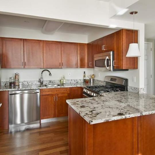 Apartments for sale at Graceline Court in NYC - Kitchen