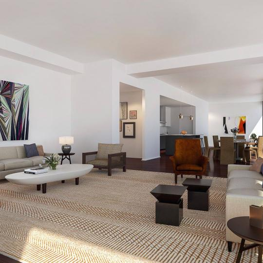 10 Bond Street - Living Room - condo for sale in NYC