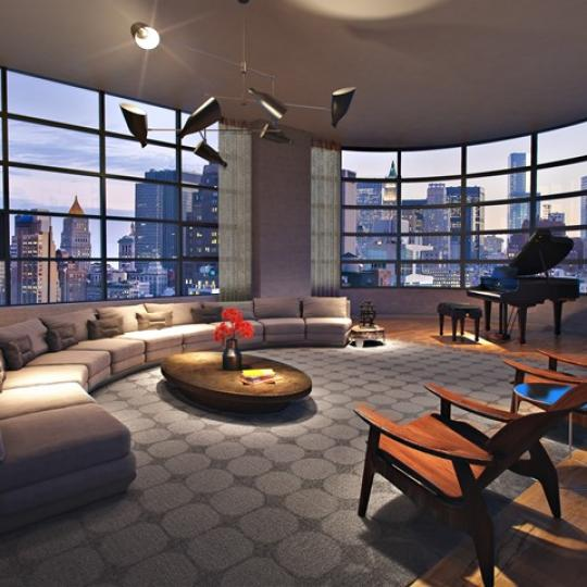 10 Sullivan Street - Living room - Manhattan Condo for Sale