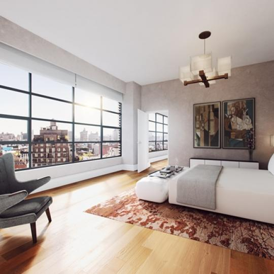 10 Sullivan Street - Bedroom - Manhattan Condo for Sale