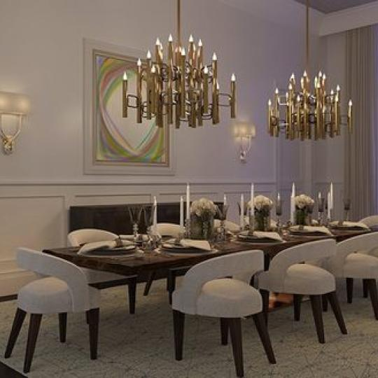 Dining Room - 1110 Park Avenue Building - Condo for sale in Carnegie Hill