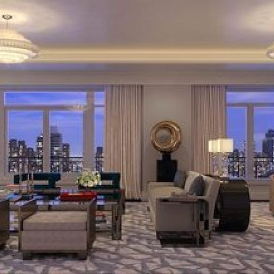 Living Room - 1110 Park Avenue Building - Condo for sale in Carnegie Hill