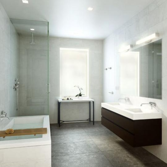 11 North Moore - Tribeca apartments - bathroom