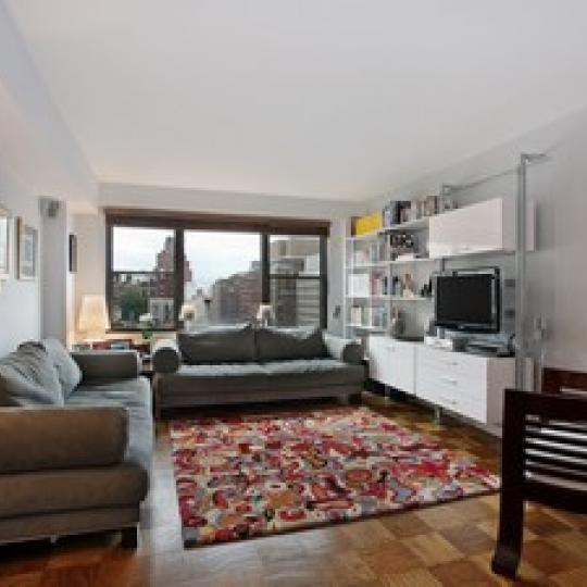 120 East 90th Street - NYC apartments for sale - tv room