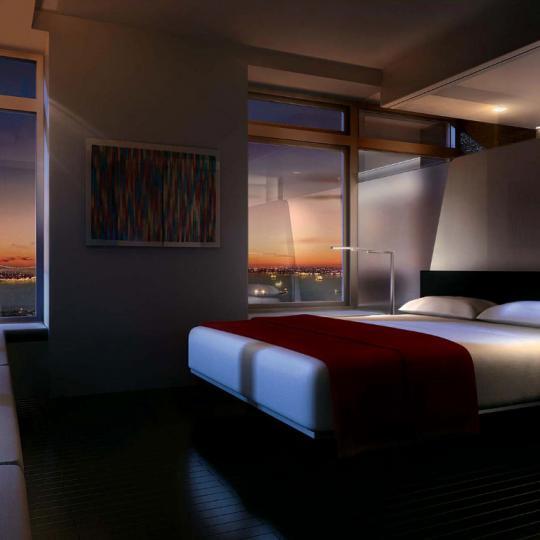 123 Washington Street Bedroom - NYC Condos for Sale
