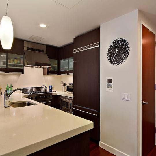 The Indigo NYC Condos - 125 West 21st Apartments for Sale in Chelsea Kitchen