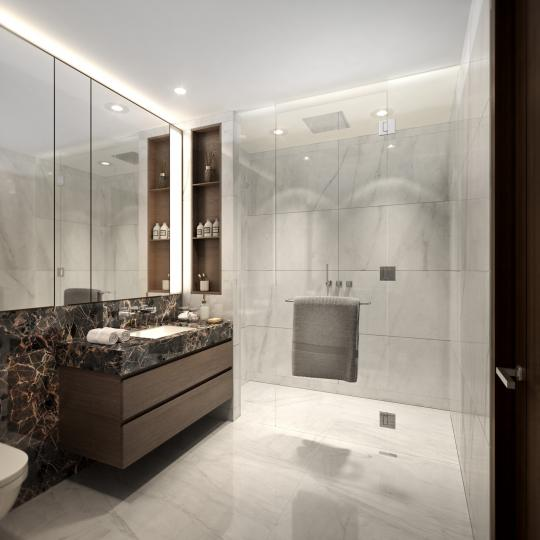 Condos for sale at 125 Greenwich Street in Financial District - Bathroom