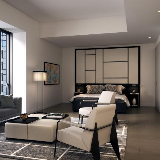 Condos for sale at 125 Greenwich Street in Financial District - Bedroom