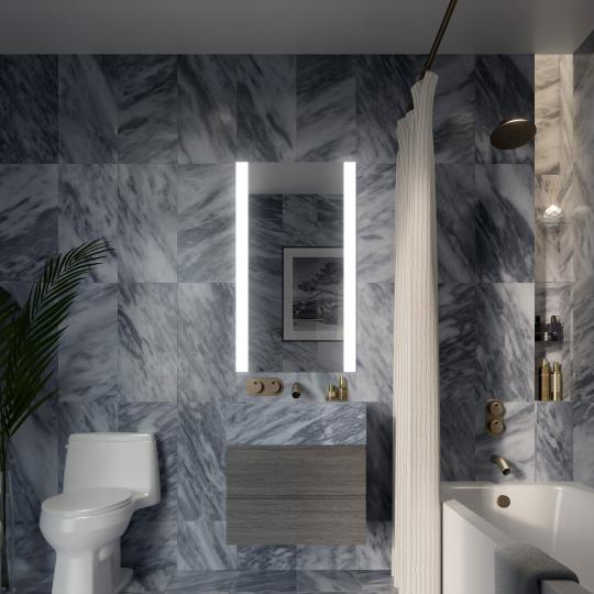 Bathroom at 130 William Street - Apartments for sale