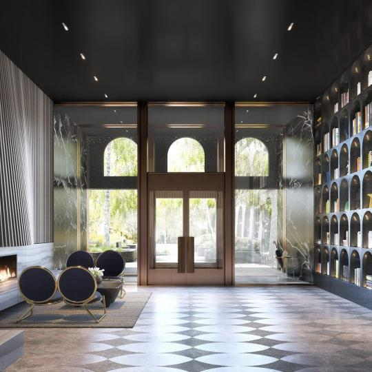 Lobby at 130 William Street - Apartments for sale