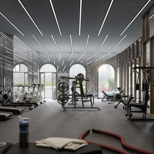 Fitness Center at 130 William Street - Apartments for sale
