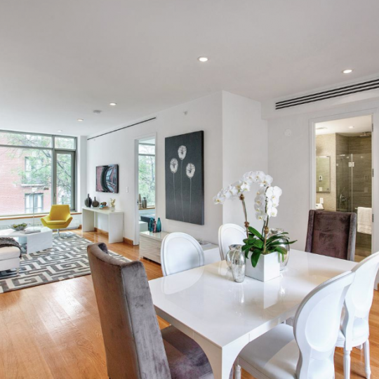 132 East 30th Street-NYC Condos- Apartments for Sale in Kips Bay Living Room