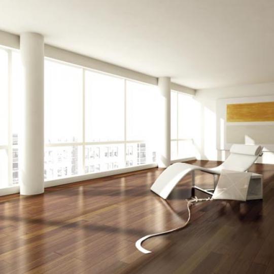 133 West 22nd Street Living Room - Manhattan Condos for Sale