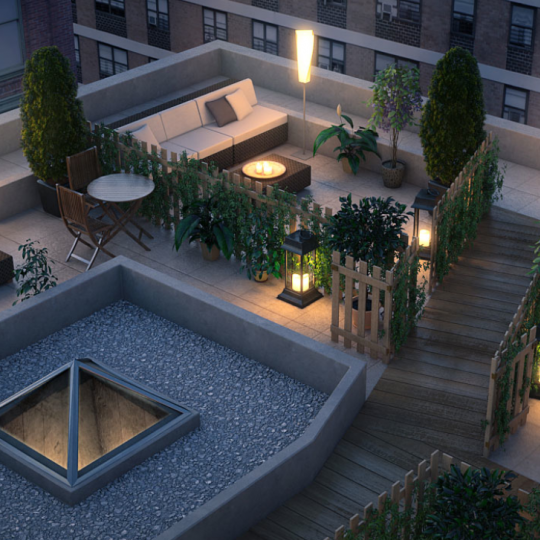 133 Mulberry Rooftop deck with amazing view