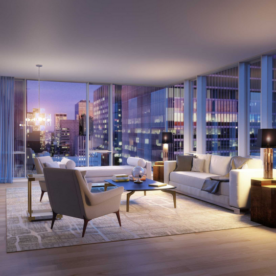 Living Room - 135 West 52nd Street