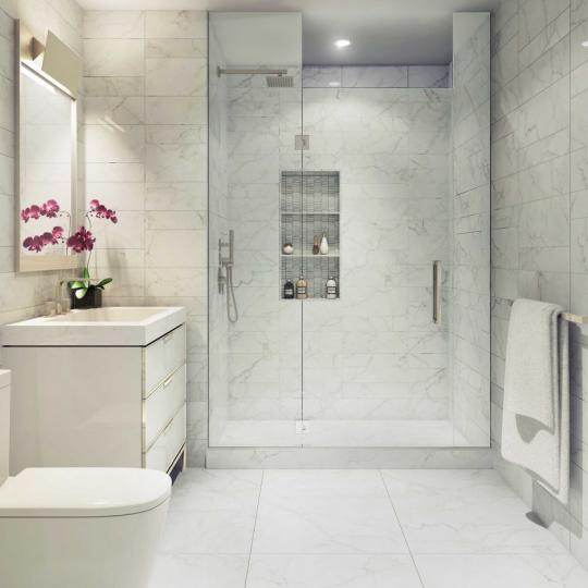 Bathroom- 135 West 52nd Street