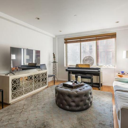 137 East 13th Street Living Room - Greenwich Village NYC Condominiums