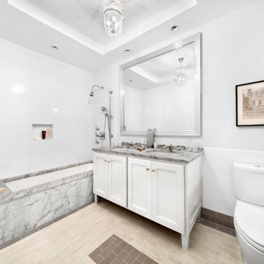 Bathroom at 138 Pierrepont Street in Brooklyn Heights - Apartments for sale