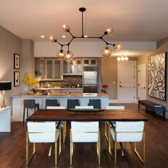 Dining Area at The Brooklyn Trust in NYC - Condos for sale