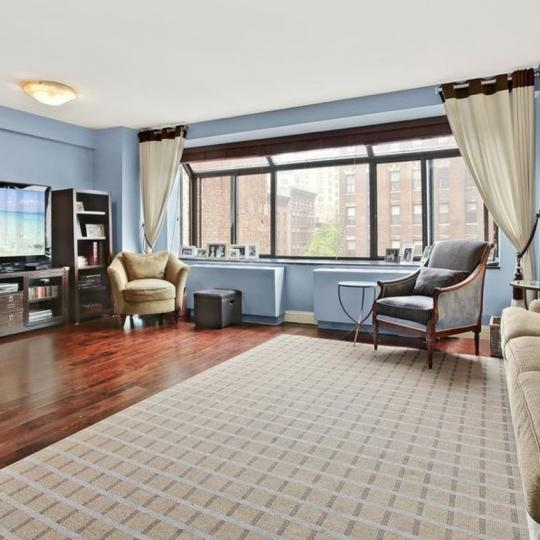 Livingroom at 1441 Third Avenue in NYC - Condos for sale