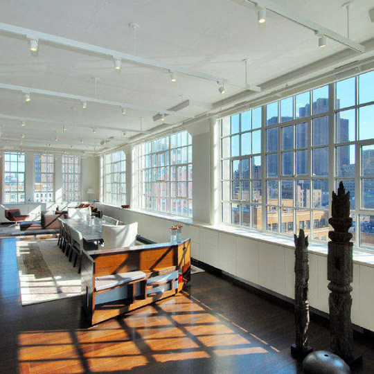 Sky Lofts at 145 Hudson - Living Room