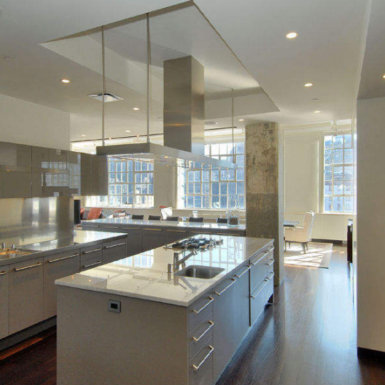 Sky Lofts at 145 Hudson - Kitchen