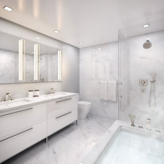 151 West 21st Street Bathroom - Chelsea New Construction Condominiums