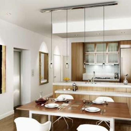 158 Madison Avenue New Construction Condominium Kitchen Area