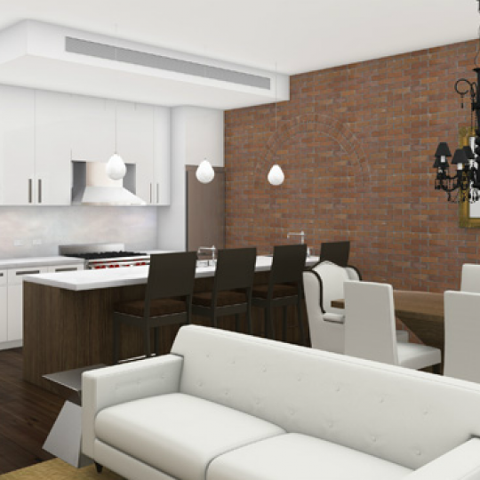159 Duane Street Living Room - Apartments for Sale in Tribeca