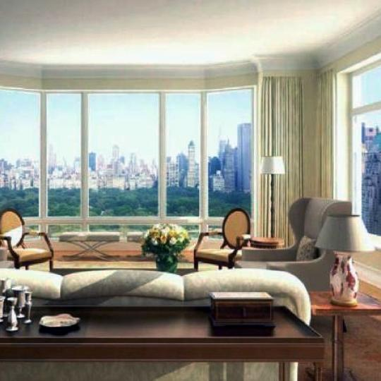 15 Central Park West Living Room, 15 CPW Condos For Sale