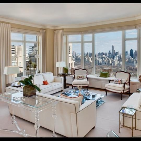 15 Central Park West Living Room, Apartments near Central Park